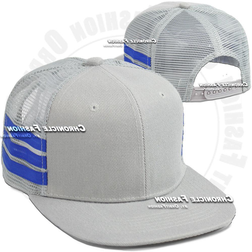Trucker Baseball Snapback Cap Hip Hop Adjustable Mens