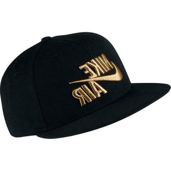 Nike True Unisex Nike Air Cap / Hat NEW Snapback Flatbill Bl