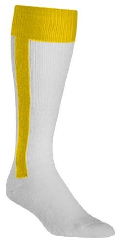 Twin City Adult Two-In-One Stirrup Socks, Gold