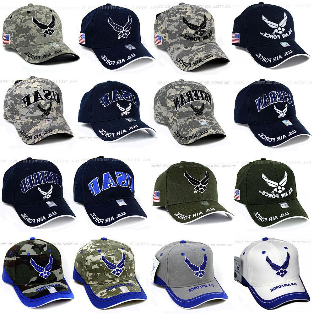 U.S. AIR FORCE hat USAF Military Logo Embroidered Official L