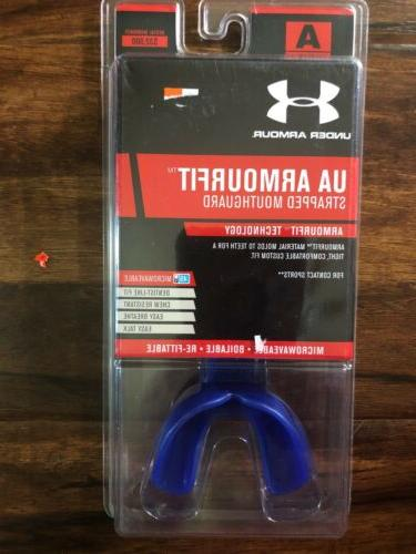 Under Armour UA ArmourFit Multi-Sport Mouthguard With Strap
