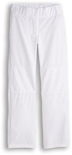 Under Armour Kids Boy's UA Leadoff Pant  White/Black Pants L