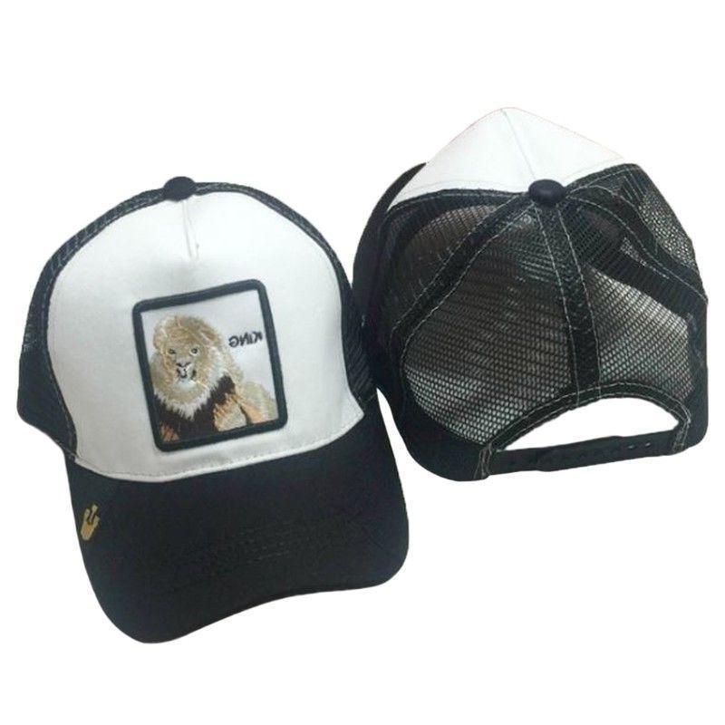 Unisex Animals Baseball Cap Snapback Mesh Trucker Hat Z