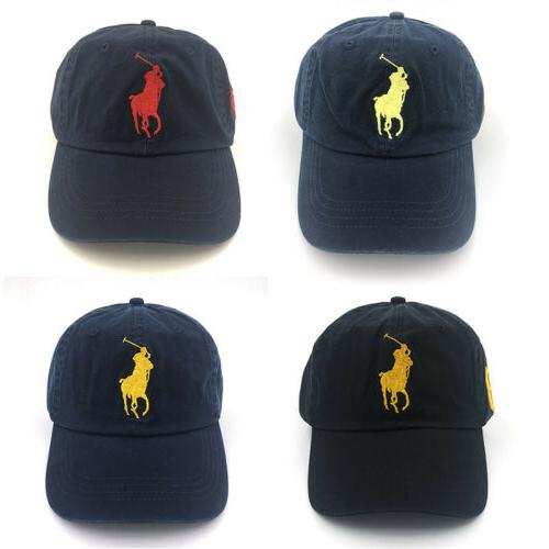 Polo Cap With Fine Embroideried Big Pony 3 Baseball Golf Ten