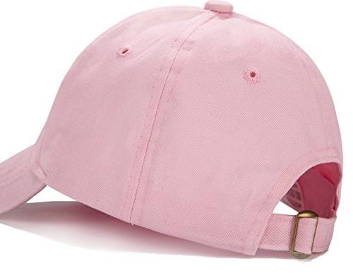 Edoneery Unisex Plain Cotton Baseball Cap