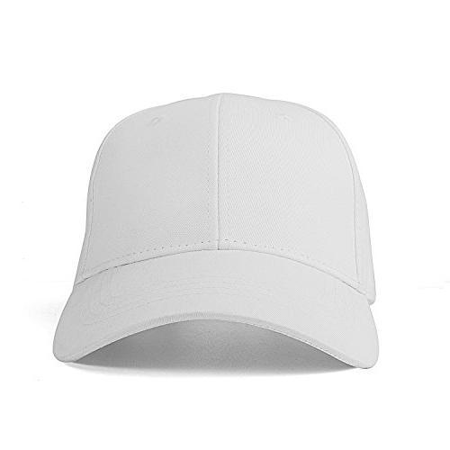 IZUS Plain Easy Adjustable Baseball Cap Hat Modern Design