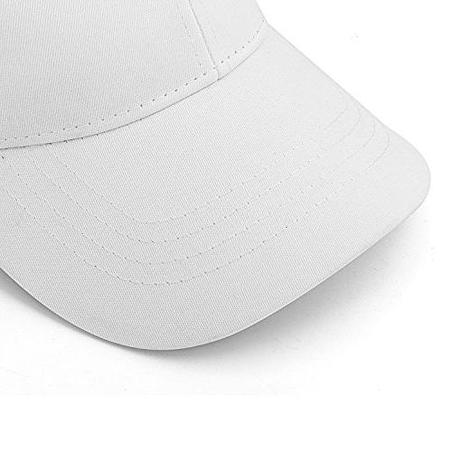IZUS Unisex Plain Adjustable Cap Modern