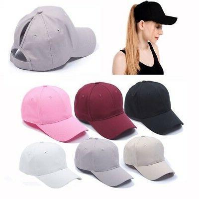 us outdoors women ponytail cap messy high