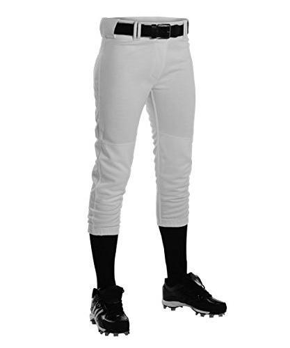 warp knit rise softball pants
