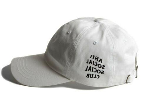 White Fashion Social Club Anti Baseball Street