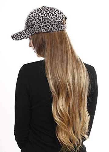 Me Women Pattern Faux Calf Hair Hat