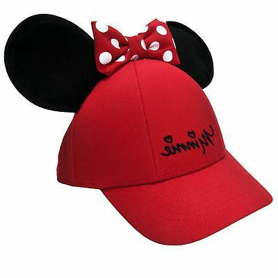 Women's Minnie Mouse Baseball Hat Ears
