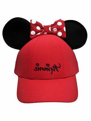 women s minnie mouse baseball hat w