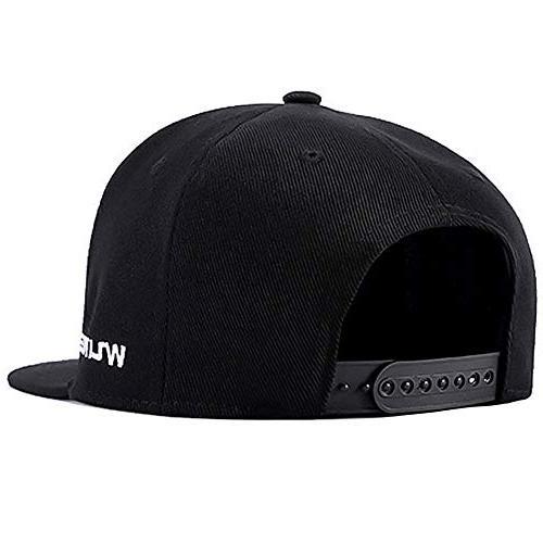 Perfashion Vintage Black Baseball Cap Style Hats