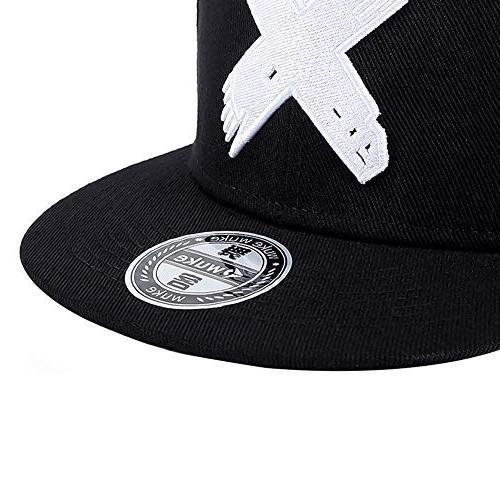 Perfashion Vintage Black Baseball Cap Adjustable Style