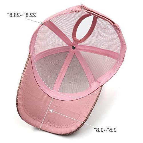 Lvaiz Glitter Hat HighBuns for Girls