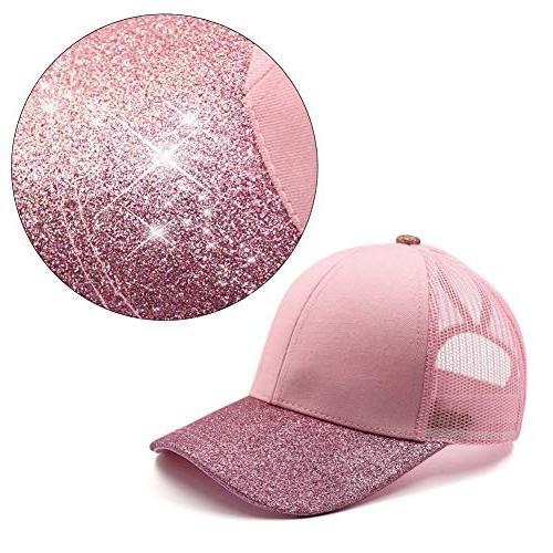 Lvaiz Glitter HighBuns for Girls
