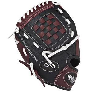 youth glove w ball