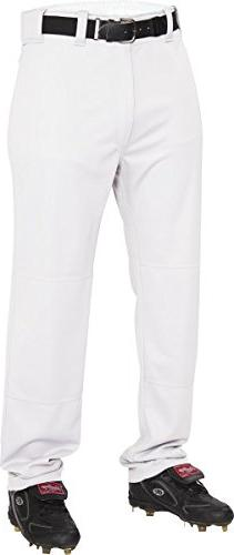 Rawlings  Youth Semi-Relaxed Pants, Medium, White