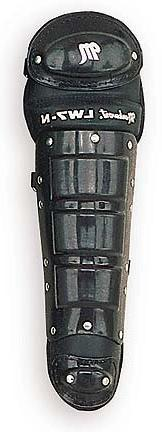 """16"""" Youth Size Single Knee Cap Leg Guards from Markwort - On"""