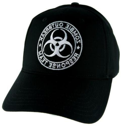 Zombie Outbreak Response Team Hat Baseball Cap Horror Clothi