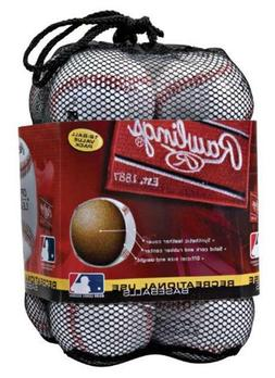 Official League CROLB Recreational Use Leather Baseballs-12