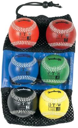 Markwort 9-Inch Leather Cover Weighted Baseball Set