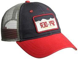 Spyder Men's License Plate Cap, Frontier, One Size