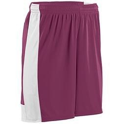 Augusta Sportswear Boys' Lightning Short S Maroon/White