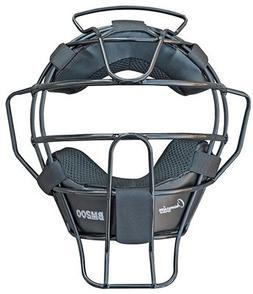 Champion Sports Lightweight Umpire Face Mask, Black