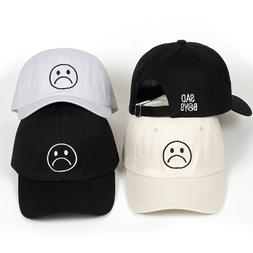 Lil-Peep Sad Boys Crying Face Dad Hat Embroidered Baseball C