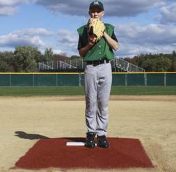 """ProMounds """"Minor League Style"""" Pitching Game Mound - Clay co"""