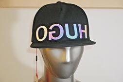 HUGO BOSS / Logo Baseball cap in cotton / Black /model Men X