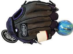 Louisville Slugger Kids Baseball Glove Diva Series Purple- D