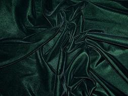 Luxurious Triple Crown Velvet Dress Fabric Bottle Green - pe
