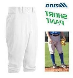 "YOUTH WHITE M Mizuno ""KNEE HIGH/SHORT"" Premier 15oz Baseball"