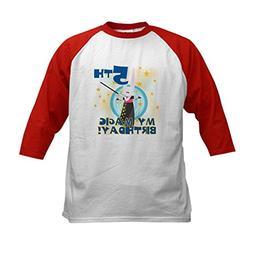 CafePress - 5th Magic Birthday Kids Baseball Jersey - Kids C