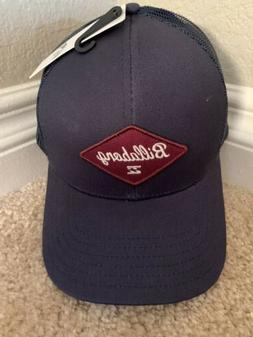 BILLABONG MAHW1 BWA WALLED TRUCKER SNAPBACK CAP NAVY NEW WIT