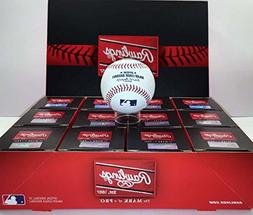 Official Major League Leather Game Baseballs from Rawlings -