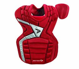 Easton MAKO Chest Protector, Red, Youth