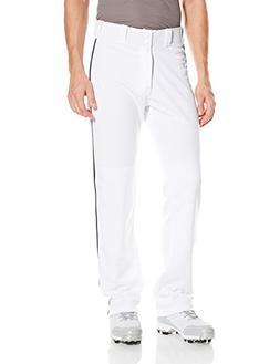 Easton Men's Mako II Piped Pants, White/Navy, Small