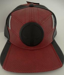 Marvel Deadpool Suit Up Snapback Hat NEW