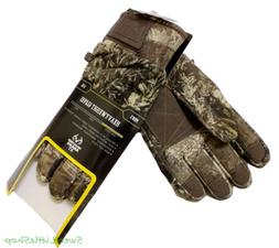 Realtree Max-1 XT Camo Men's Heavy Weight Gloves Medium L XL