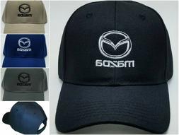 Mazda Embroidered Baseball Hat Cap Adjustable Strap CX-3 / M