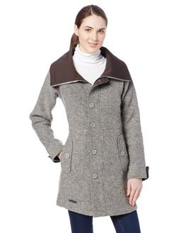 ExOfficio Women's Medelton Trench Coat, Slate, Medium