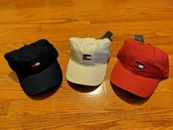 Men's Tommy Hilfiger Ardin TH Logo Baseball Dad Cap Hat 6942