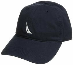 Nautica Men's Baseball Cap Adjustable Back One Size Navy