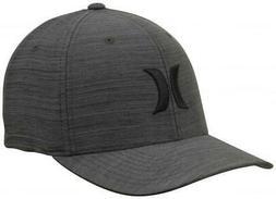 Men's Hurley Black Black Black Streak Black Textures Hat