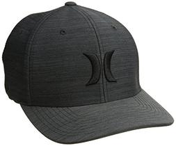 Hurley Men's Black Textures Baseball Cap, Streak, S-M