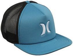 Hurley Men's Blocked 3.0 Trucker Hat Cap - Space Blue